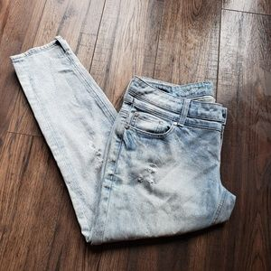 Buffalo David Bitton Light Wash Distressed Jeans